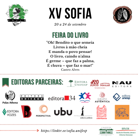 Feira do Livro - XV SOFiA